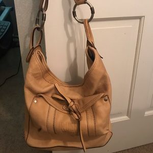 Ruehl No.925 Tan Leather Bag